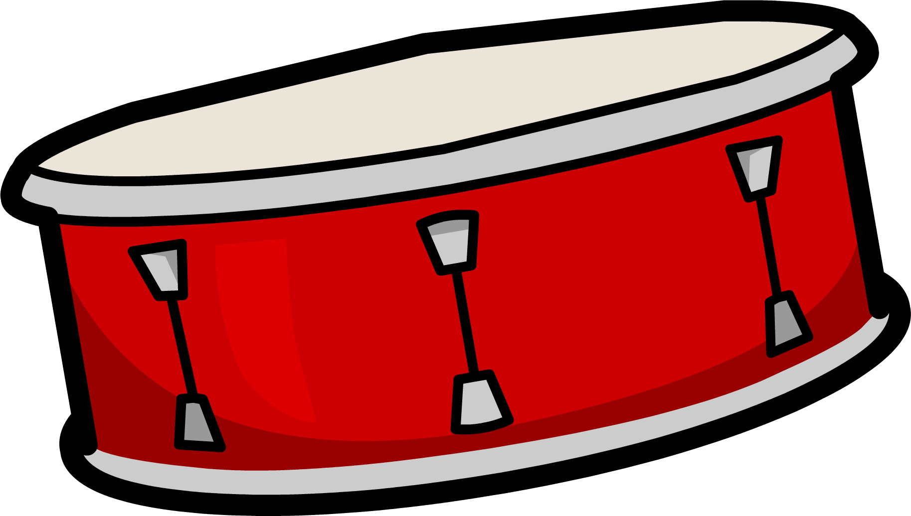 Snare club penguin wiki. Clipart guitar drum