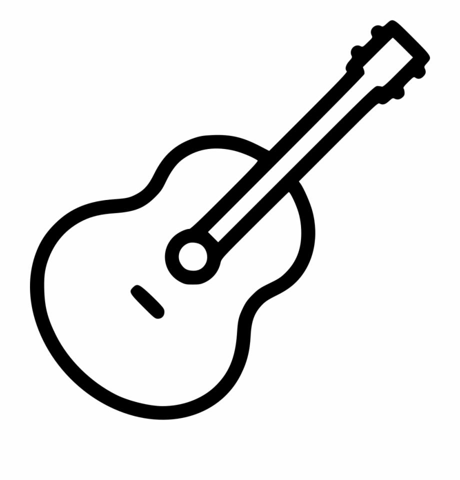 Clipart guitar easy. Acoustic music instrument audio