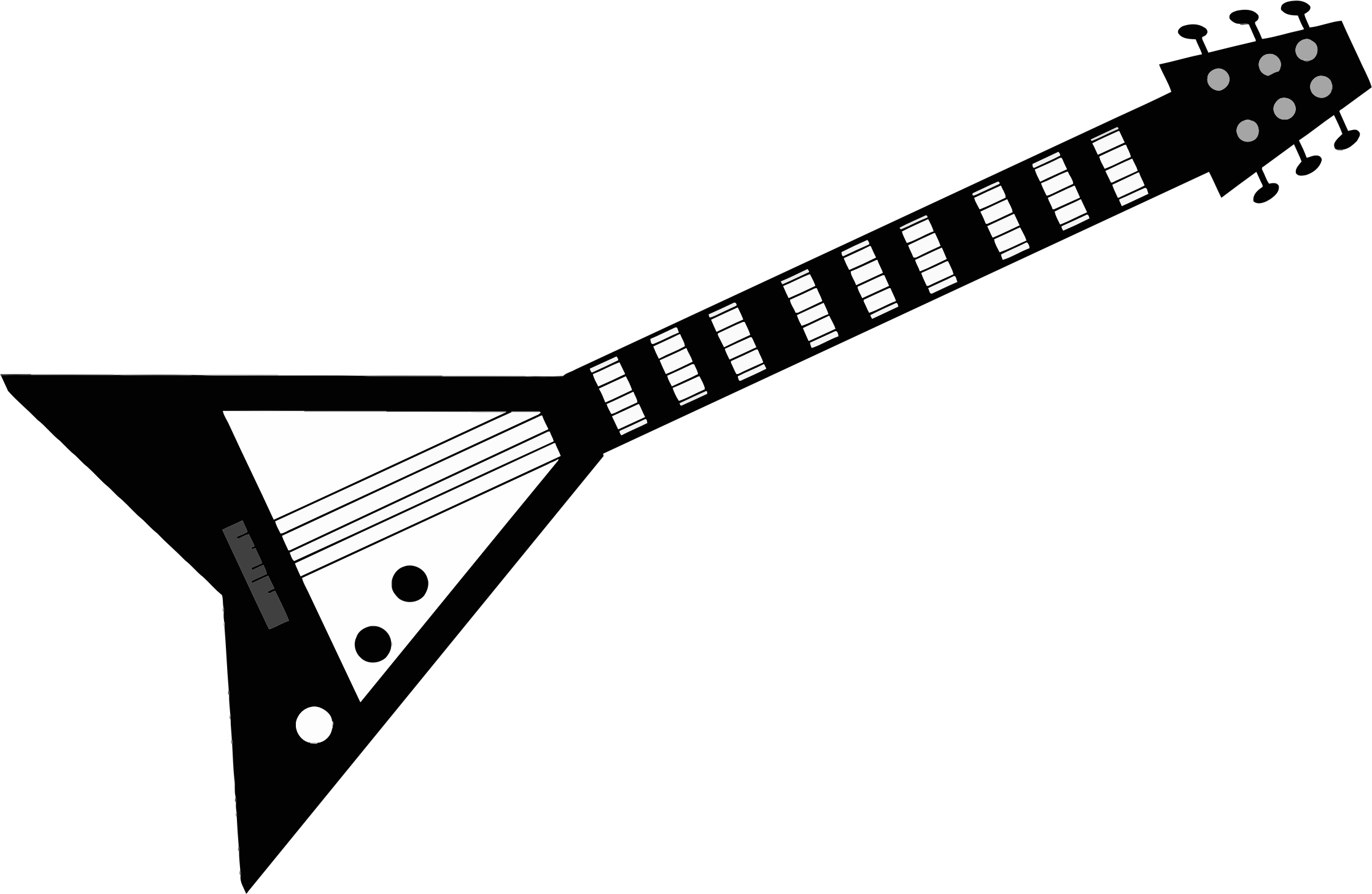 Grayscale big image png. Clipart guitar electric guitar