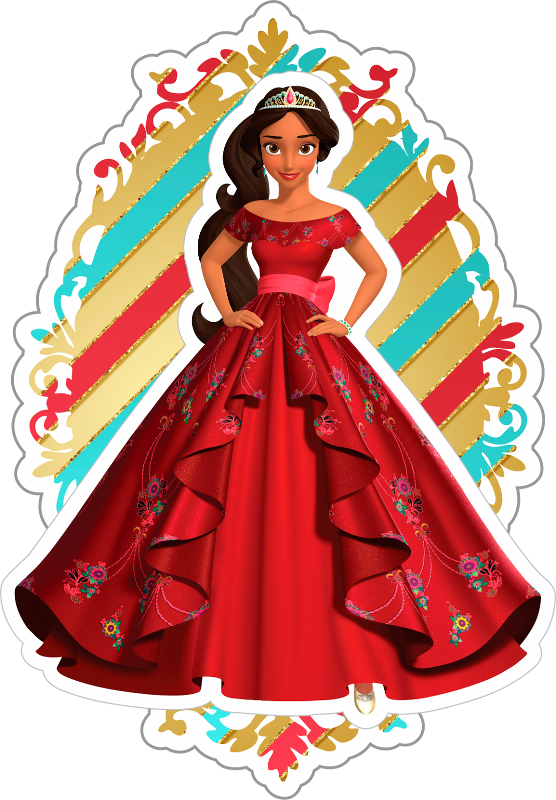 Tag d princesa de. Clipart guitar elena avalor