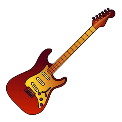 Clipart guitar eletric. Free electric download clip