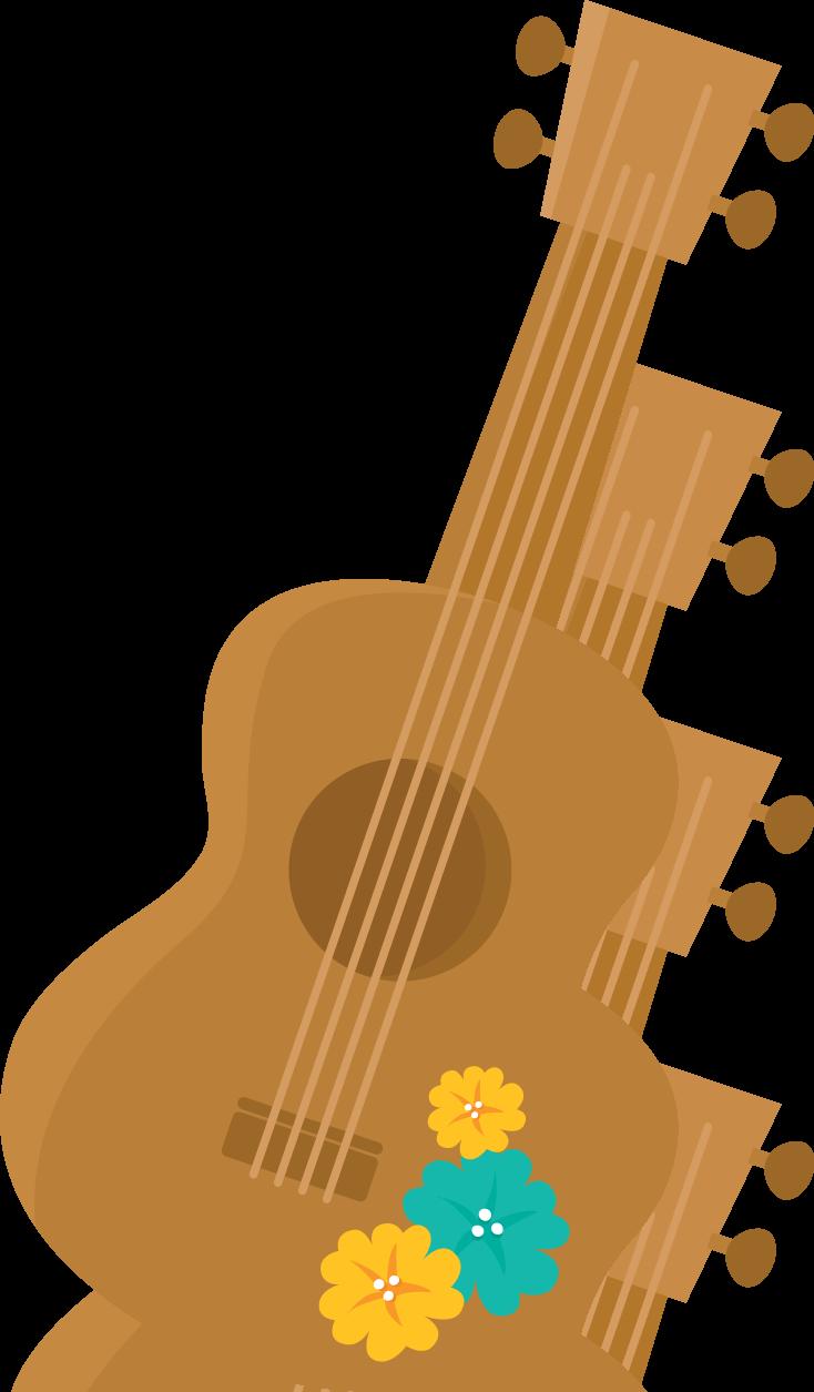 Luau clipart guitar mexican. Aloha minus fiesta hawaiana