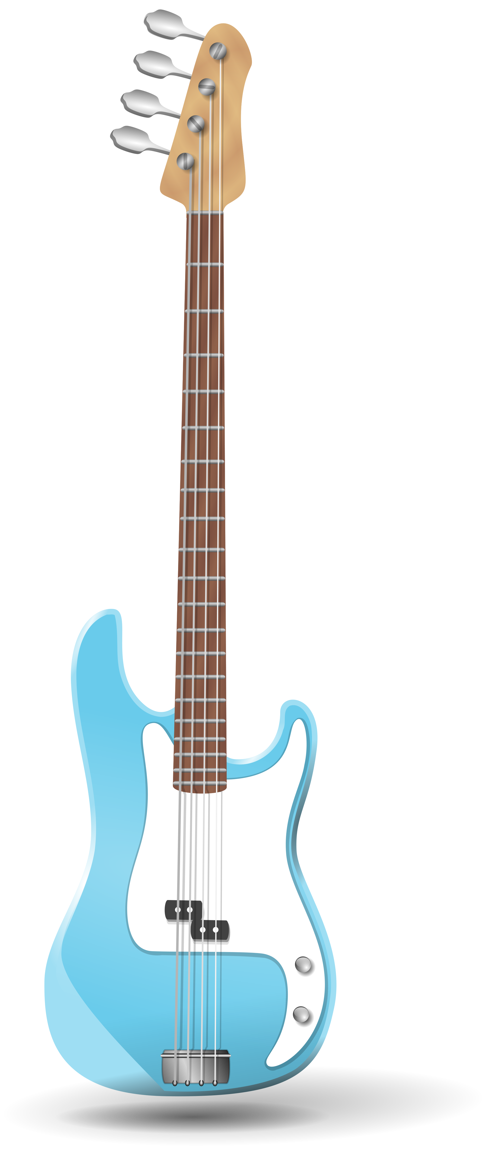 Bass svg wikimedia commons. Clipart guitar file