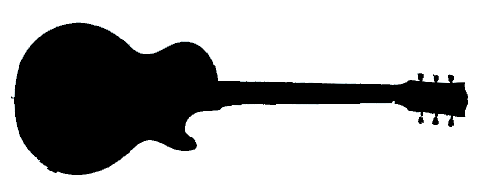 Les paul silhouette at. Clipart guitar flamenco guitar
