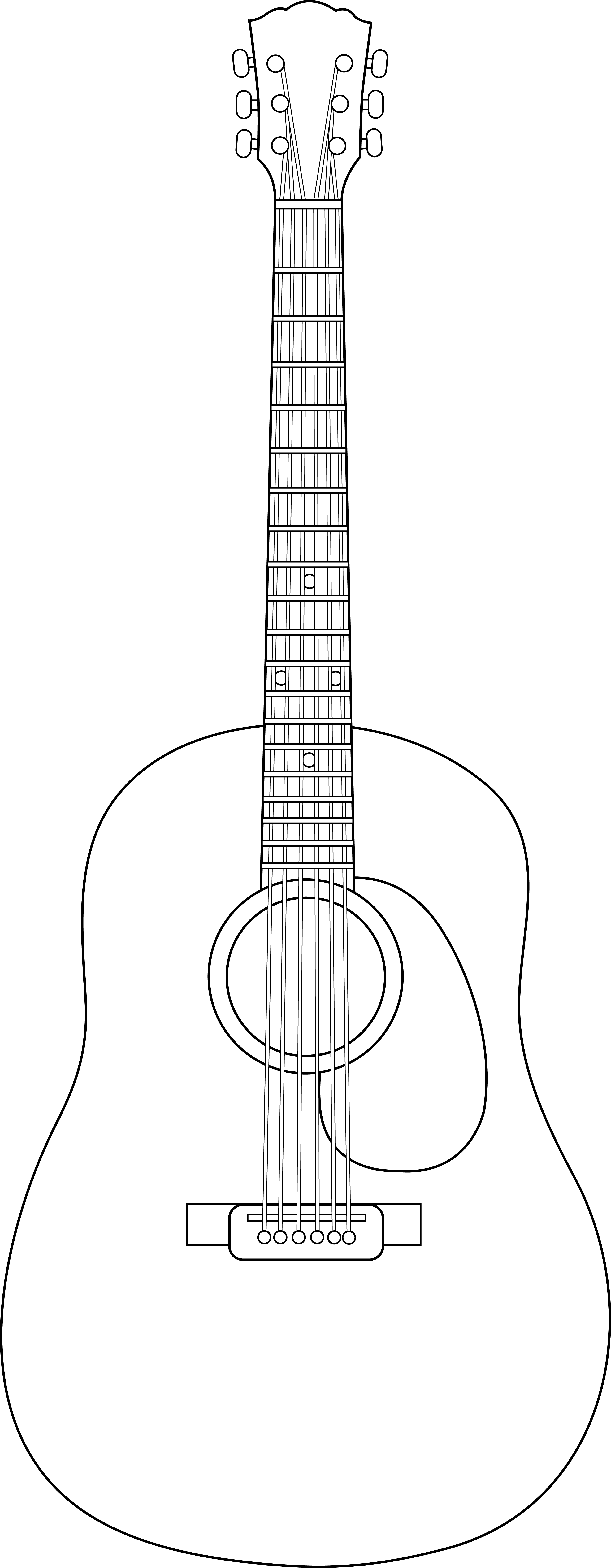 collection of acoustic. Clipart guitar flamenco guitar