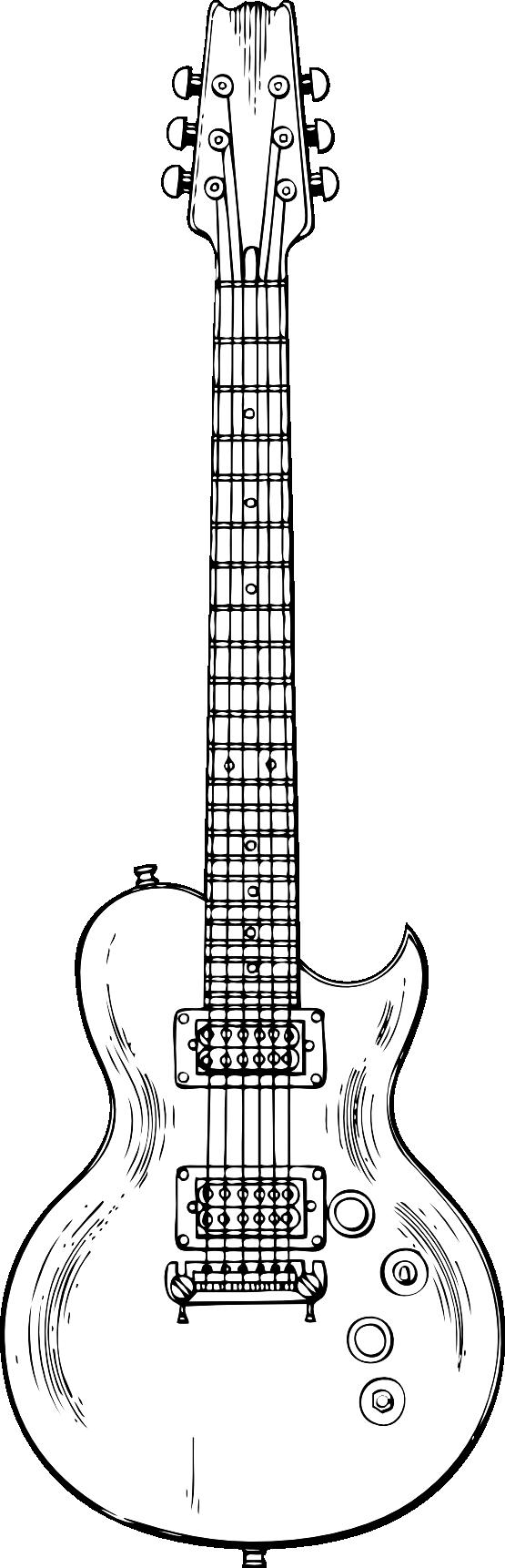 Clipartist net clip art. Clipart guitar gray