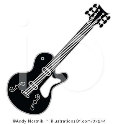 Clipart guitar guitar elvis. Black and white panda
