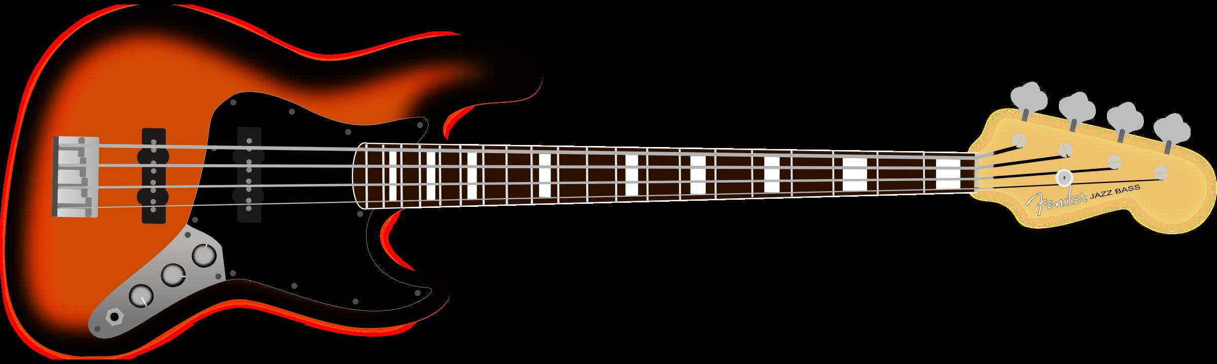Fender bass classic big. Jazz clipart clip art