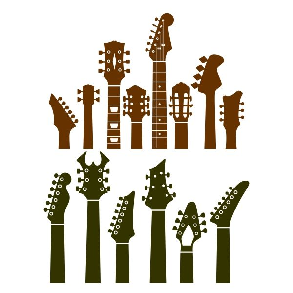 Clipart guitar guitar neck. Pin by cuttabledesigns on