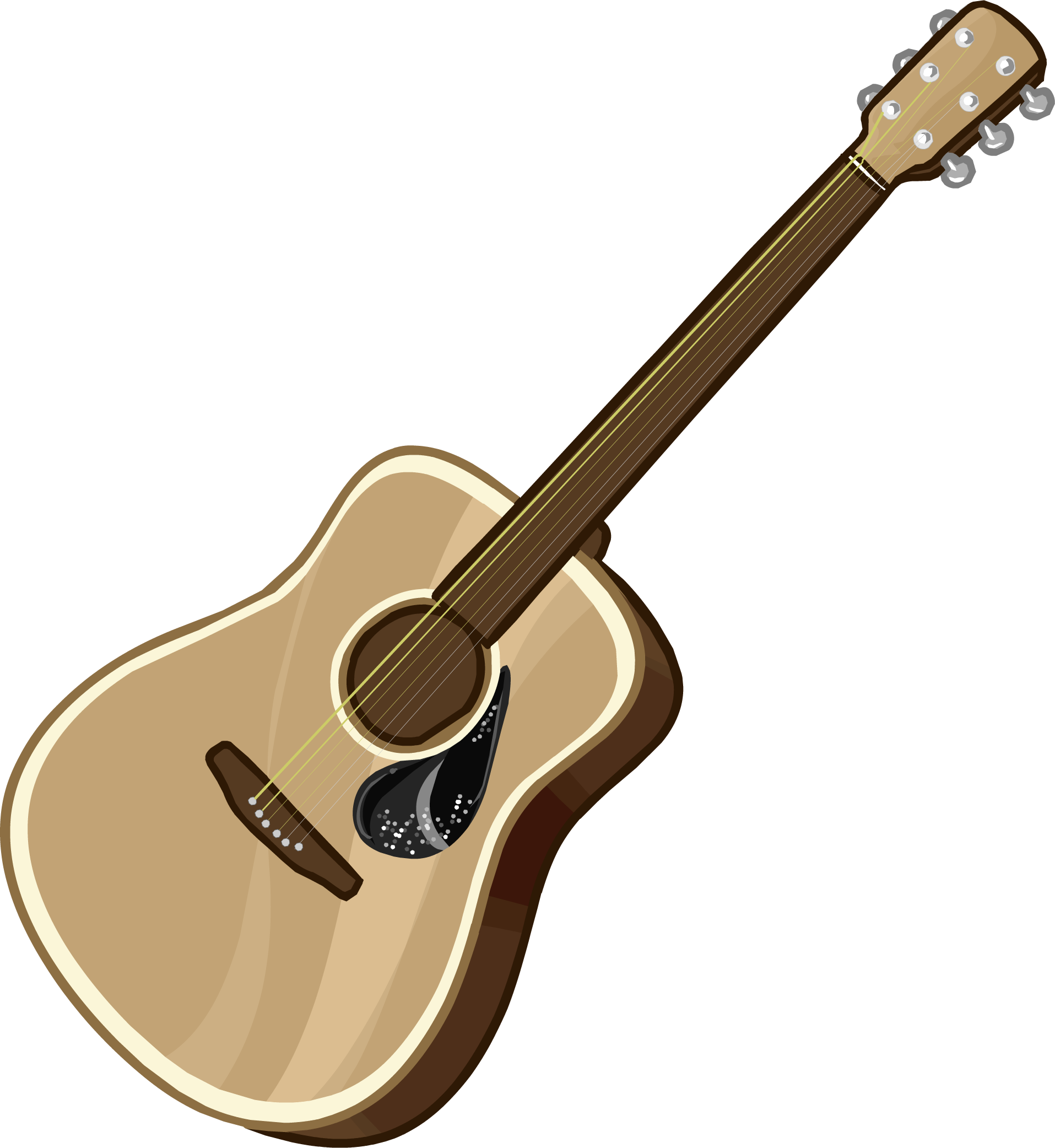 Girl next door club. Clipart guitar guitar spain
