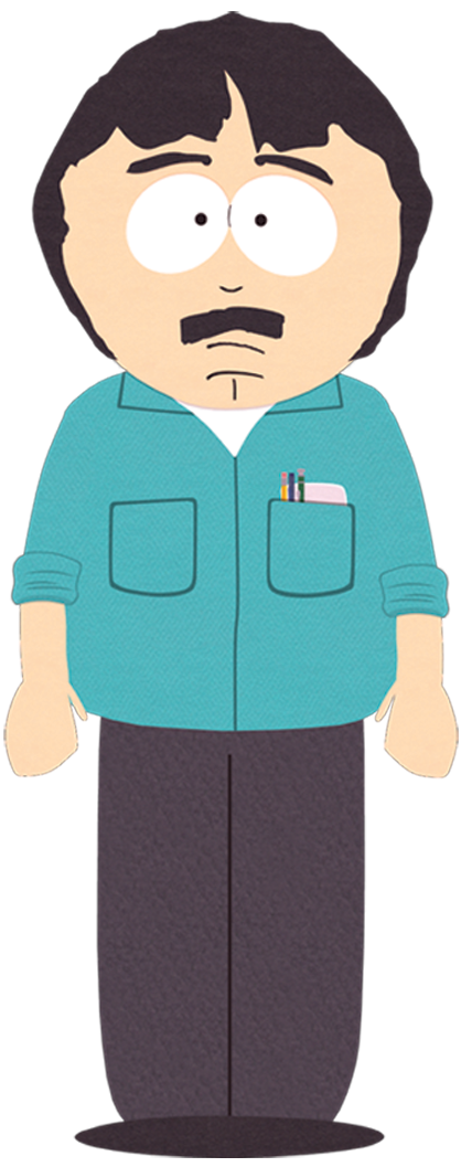 Randy marsh south park. Father clipart come back