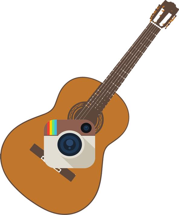 Fall in nashville facebook. Clipart guitar hippie