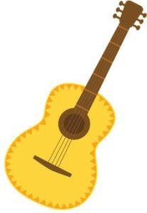 Malmesbury primary . Clipart guitar hispanic