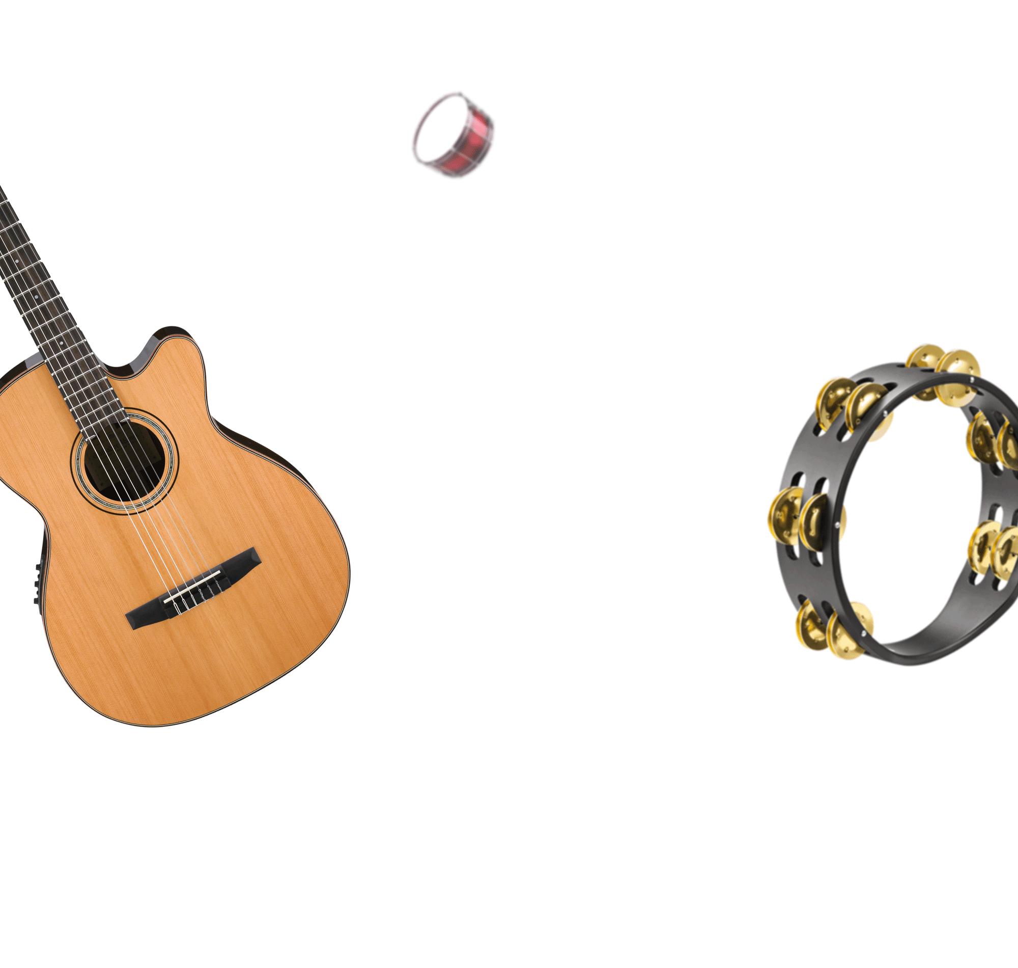 Clipart guitar laud. Autism and music awareness