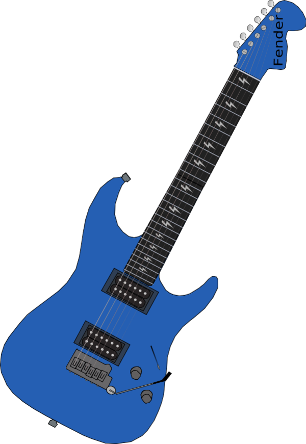 Electric images. Guitar vector png
