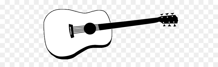 Cartoon drawing . Guitar clipart microphone