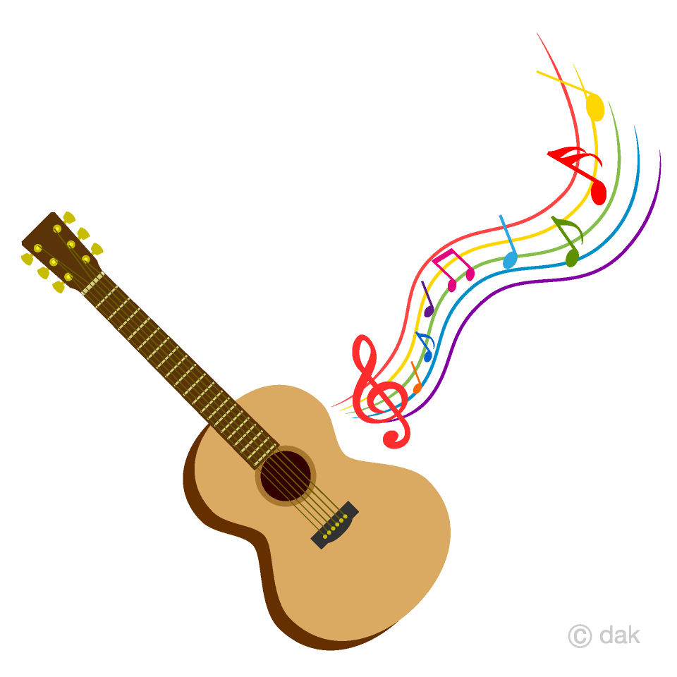 And sheet free picture. Clipart guitar music guitar