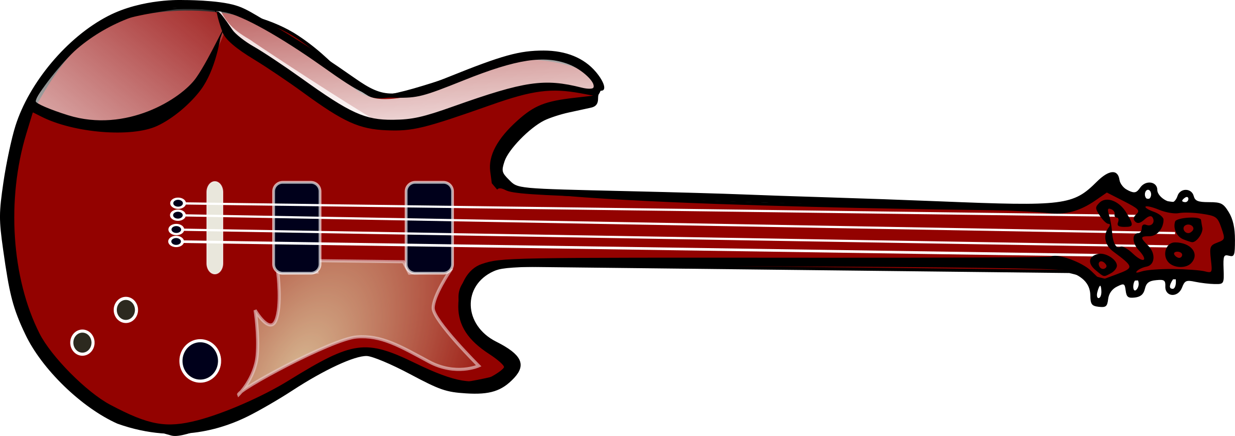 Picture clipart guitar. Bass