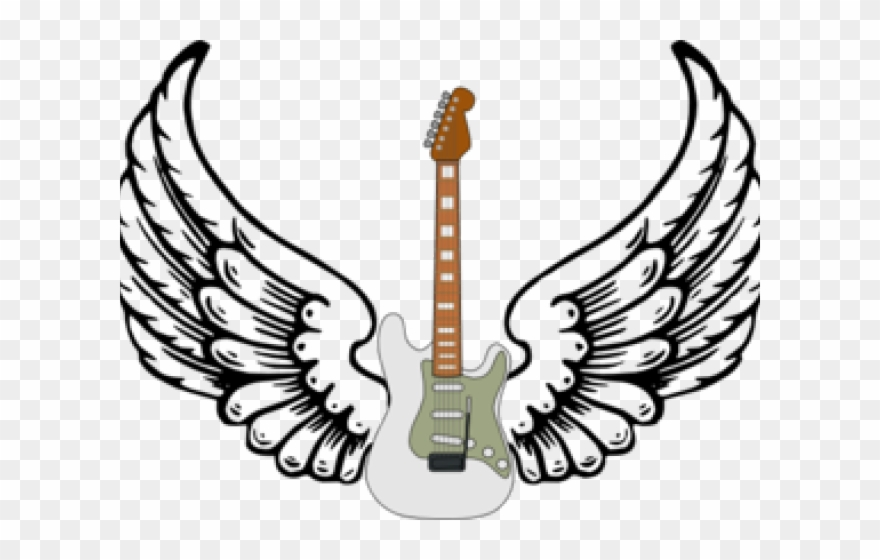 Angel wings ico png. Clipart guitar name