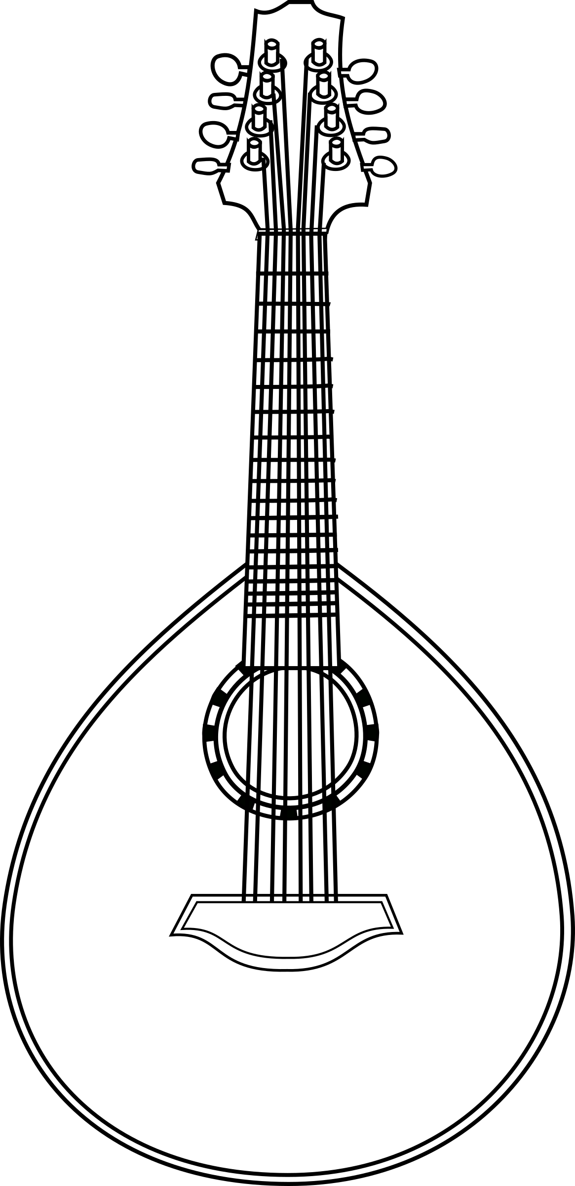 Lute big image png. Clipart guitar octavina