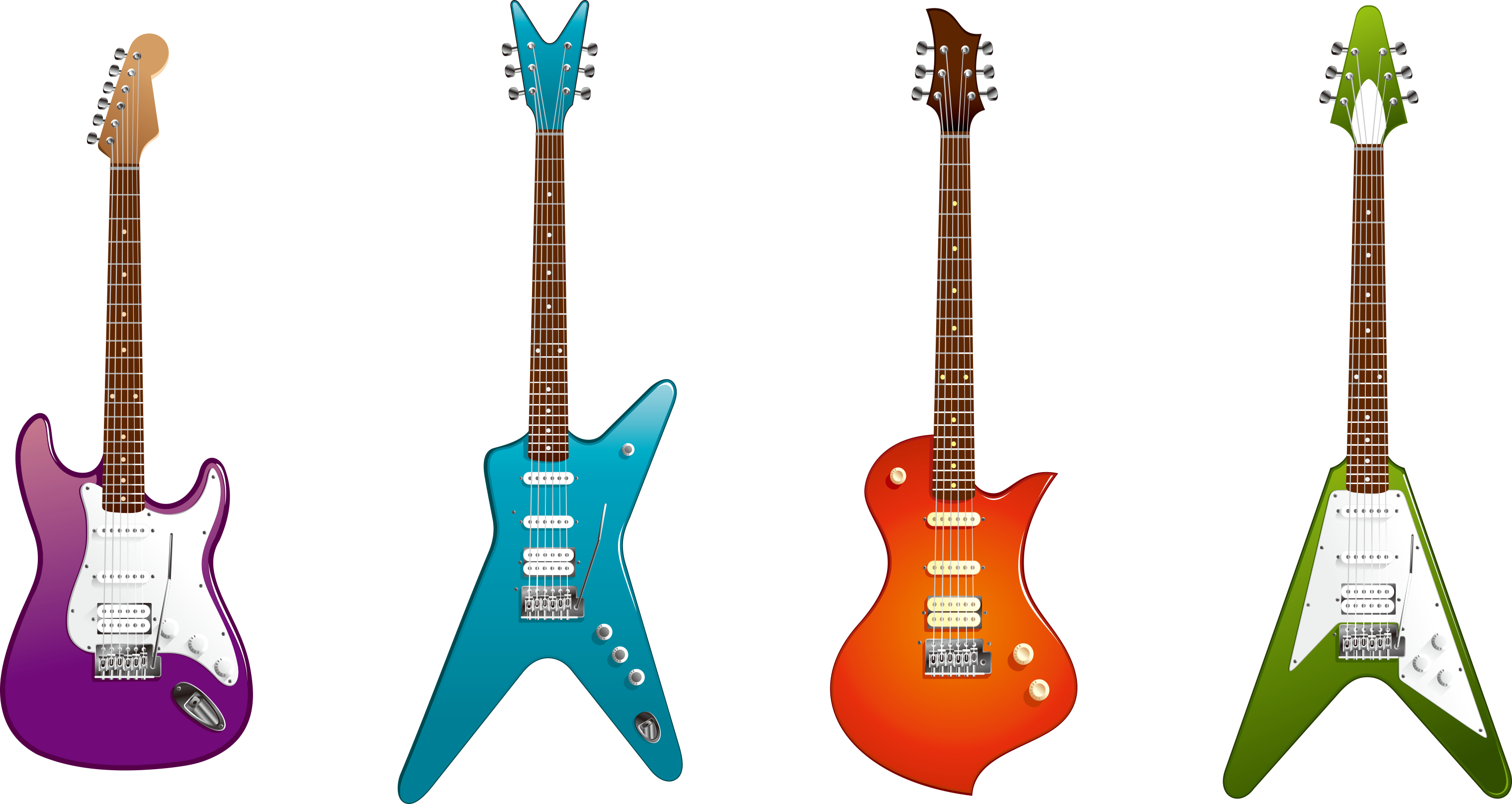 Electric musical instrument clip. Picture clipart guitar