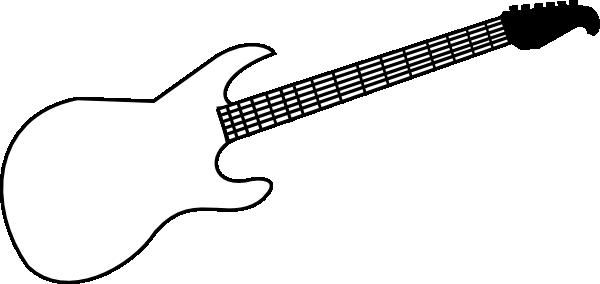 Best . Clipart guitar outline