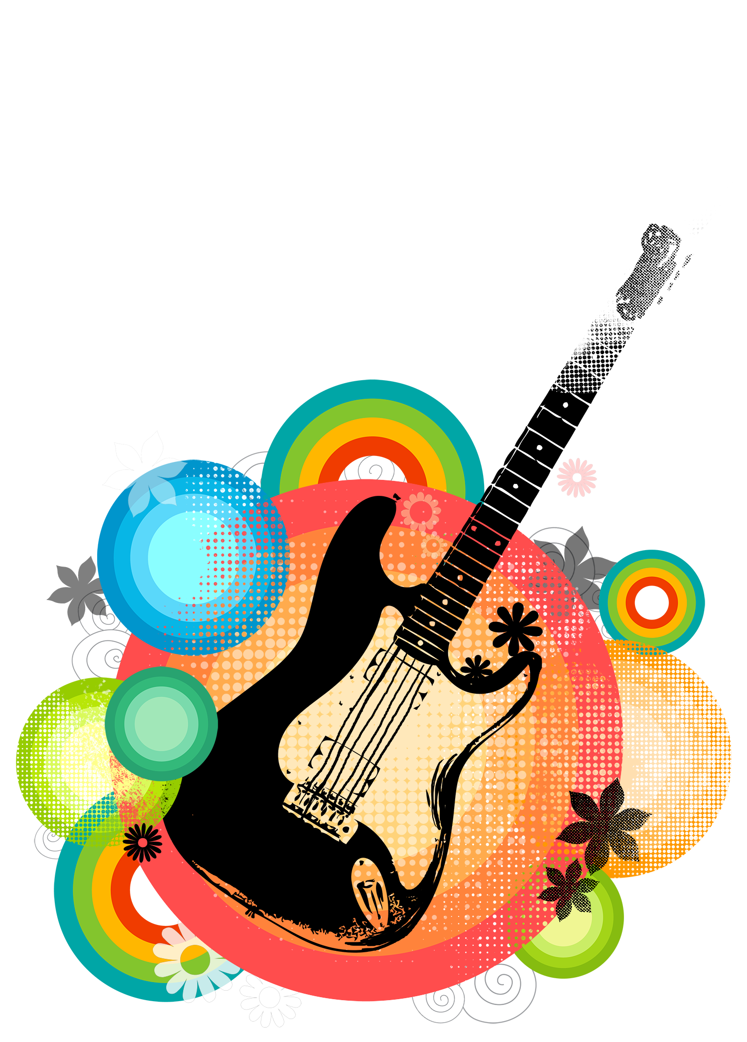 Clipart guitar photograph. Poster download art posters