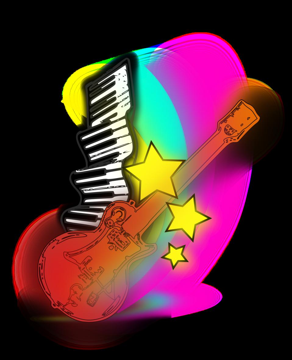 Clipart guitar public domain. Clip art image music