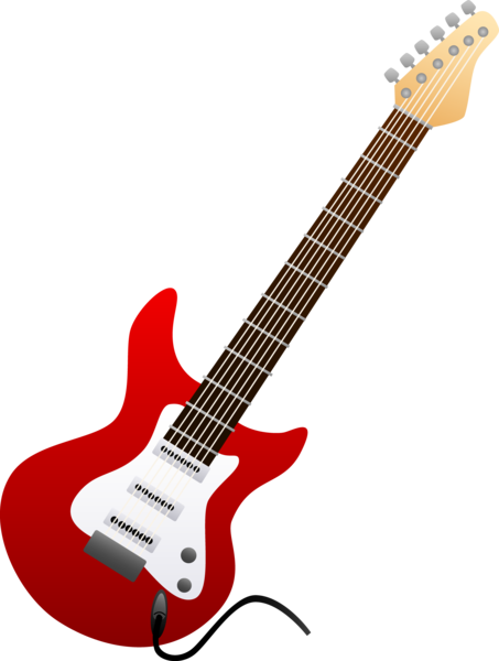 Clipart guitar public domain. Free image of download