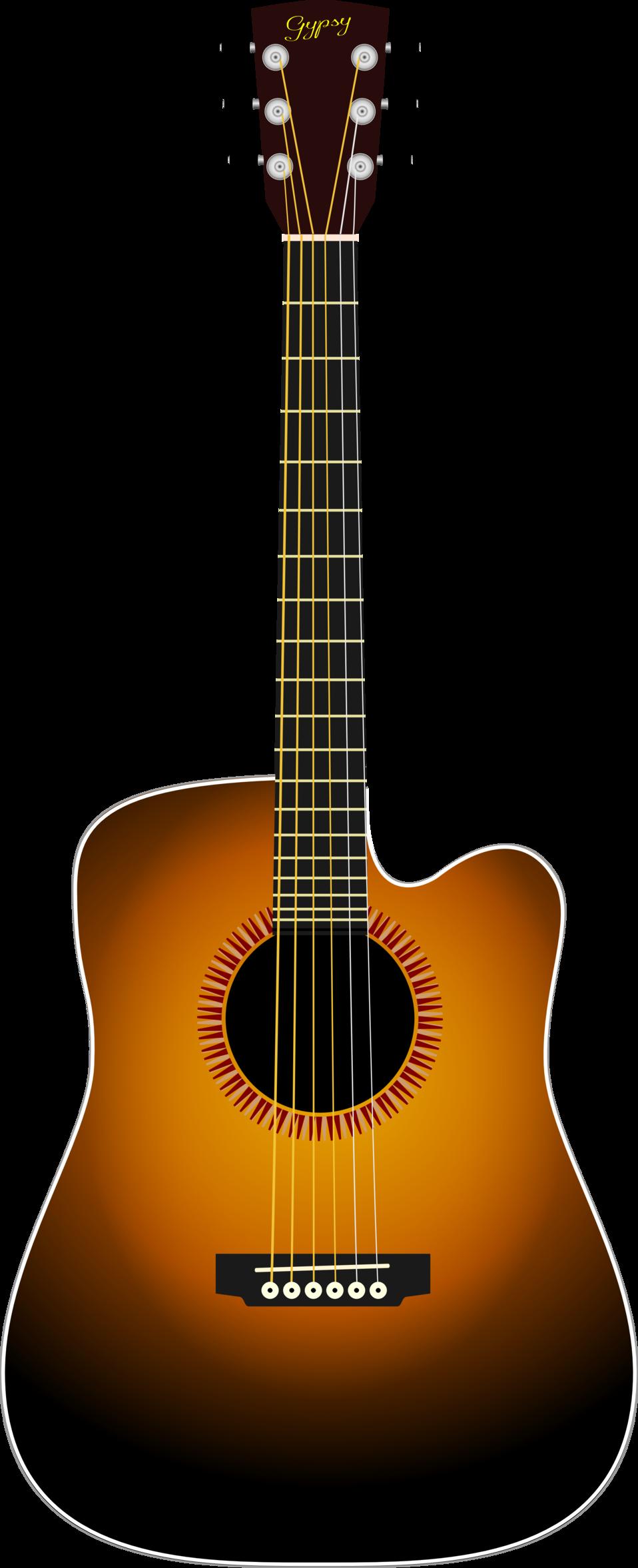 Clip art image cutaway. Clipart guitar public domain