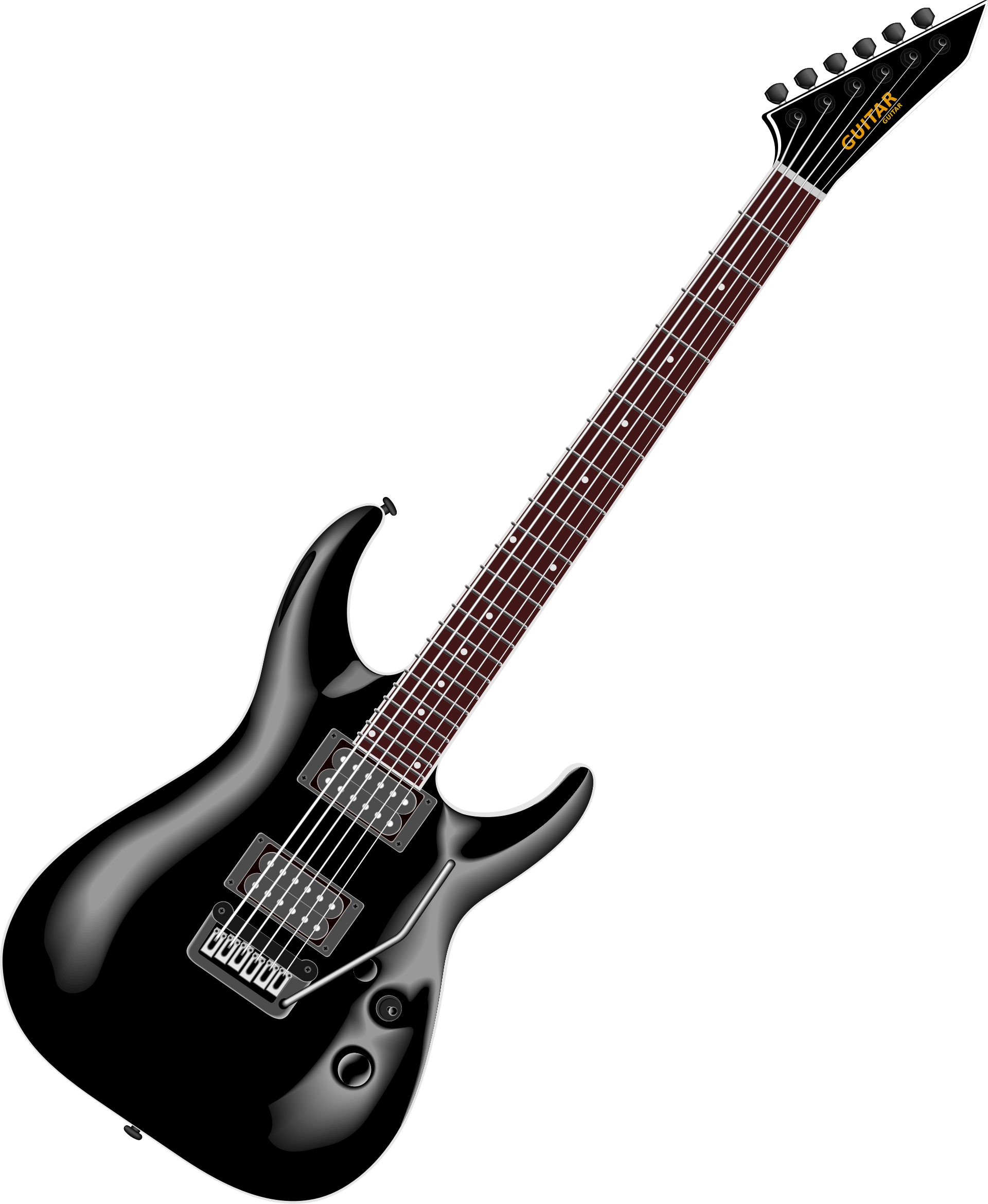 . Clipart guitar real guitar