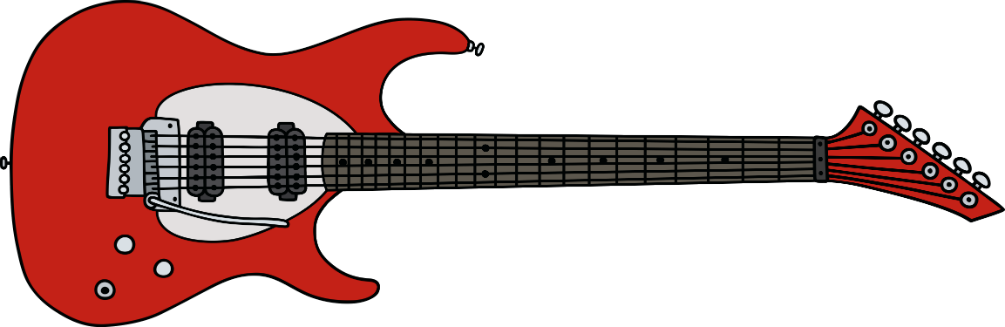 hours of streaming. Clipart guitar red guitar