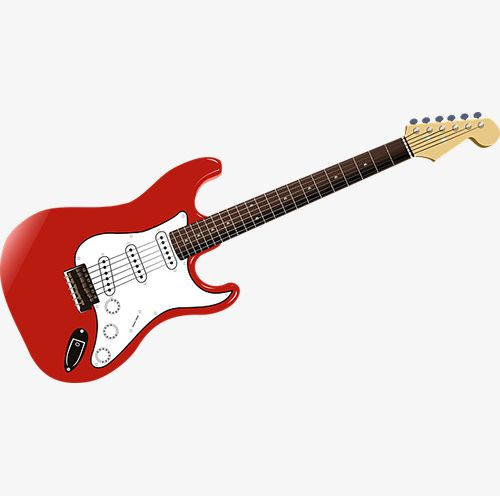And white png folk. Clipart guitar red guitar