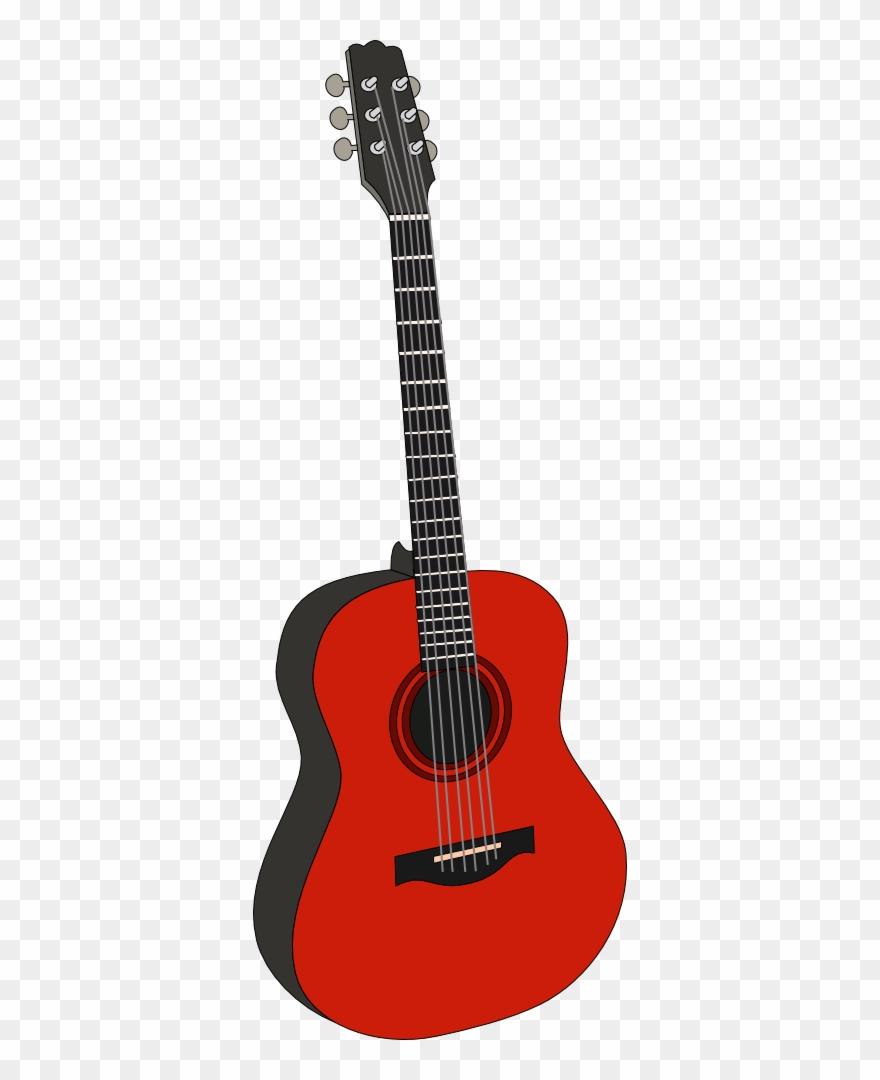 Clipart guitar red guitar. Clip art details png