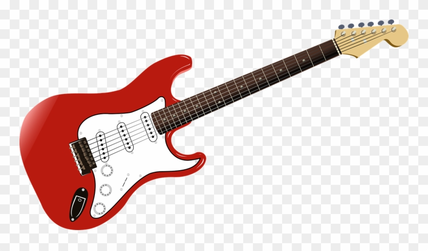 Clipart guitar rock. Music png image squier