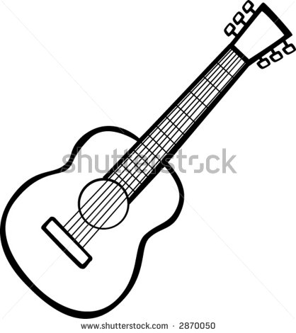 Clipart guitar simple. Drawing free download best