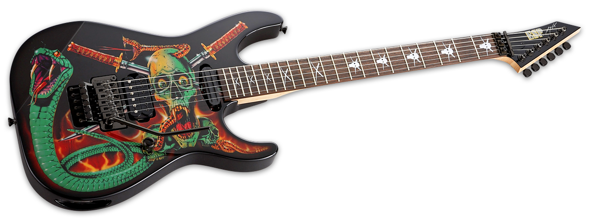 Guitar clipart skull. Products george lynch the