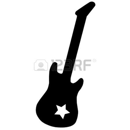 Clipart guitar star. Rock free download best