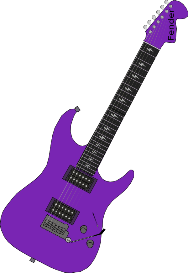 collection of purple. Clipart star guitar