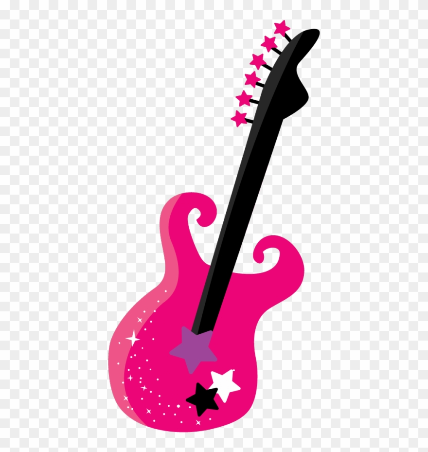 Music craft images cute. Clipart guitar star