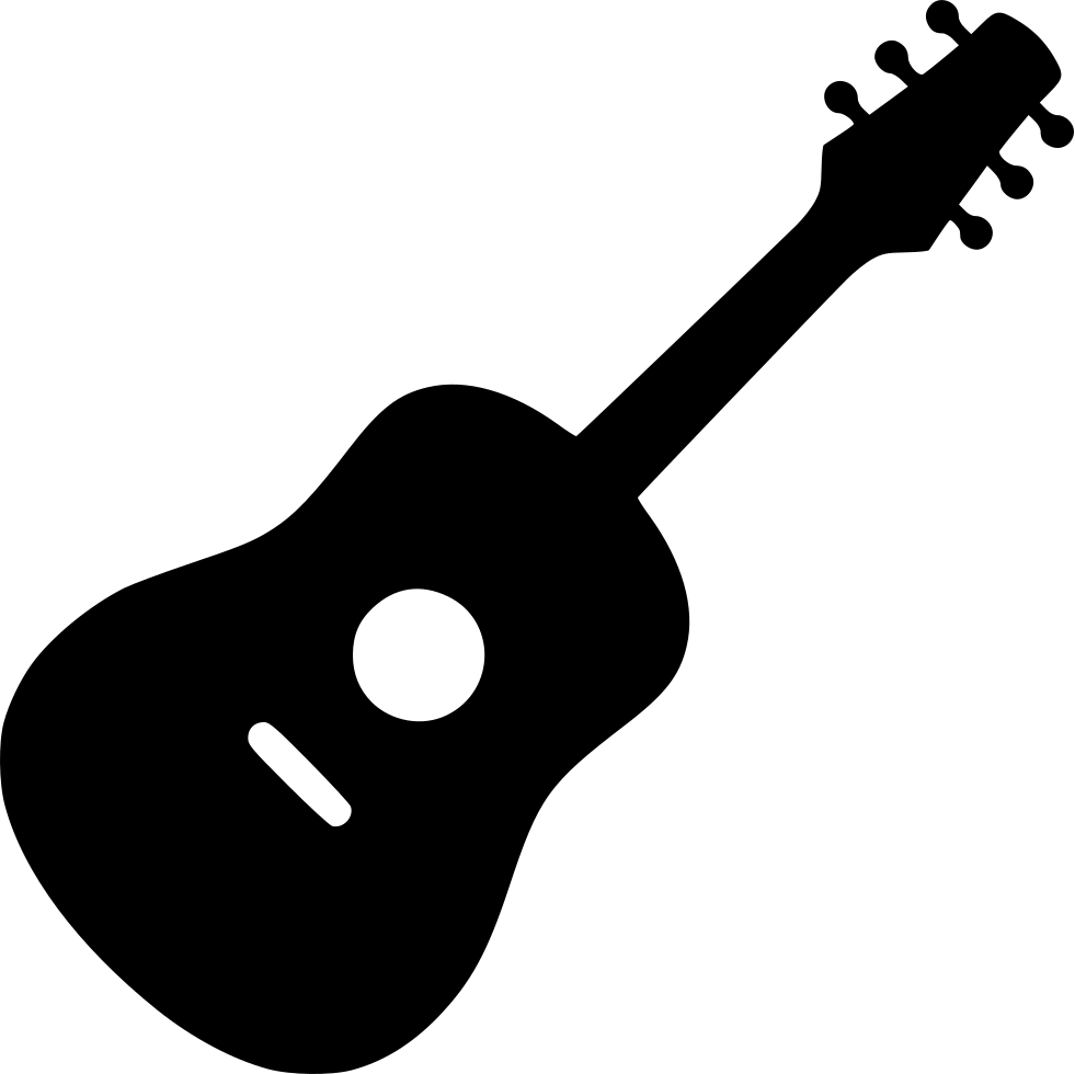 Acoustic png icon free. Clipart guitar svg