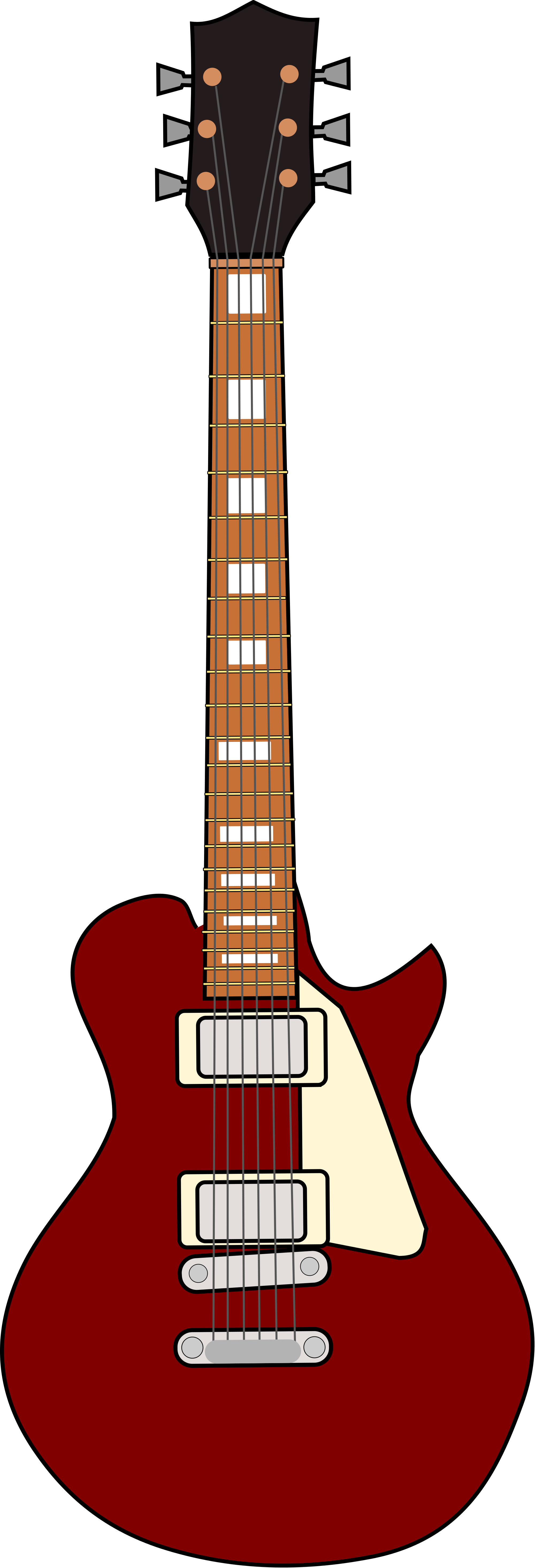 File gibson les paul. Clipart guitar svg