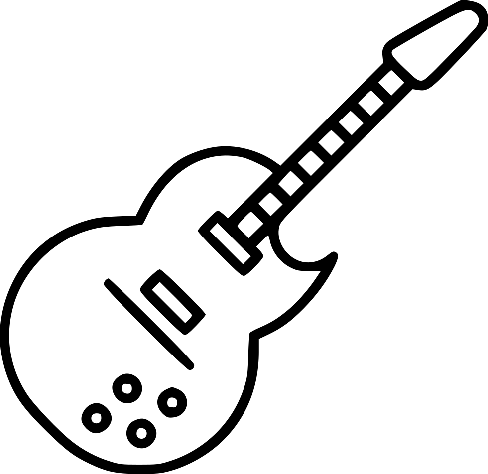 Electric png icon free. Clipart guitar svg