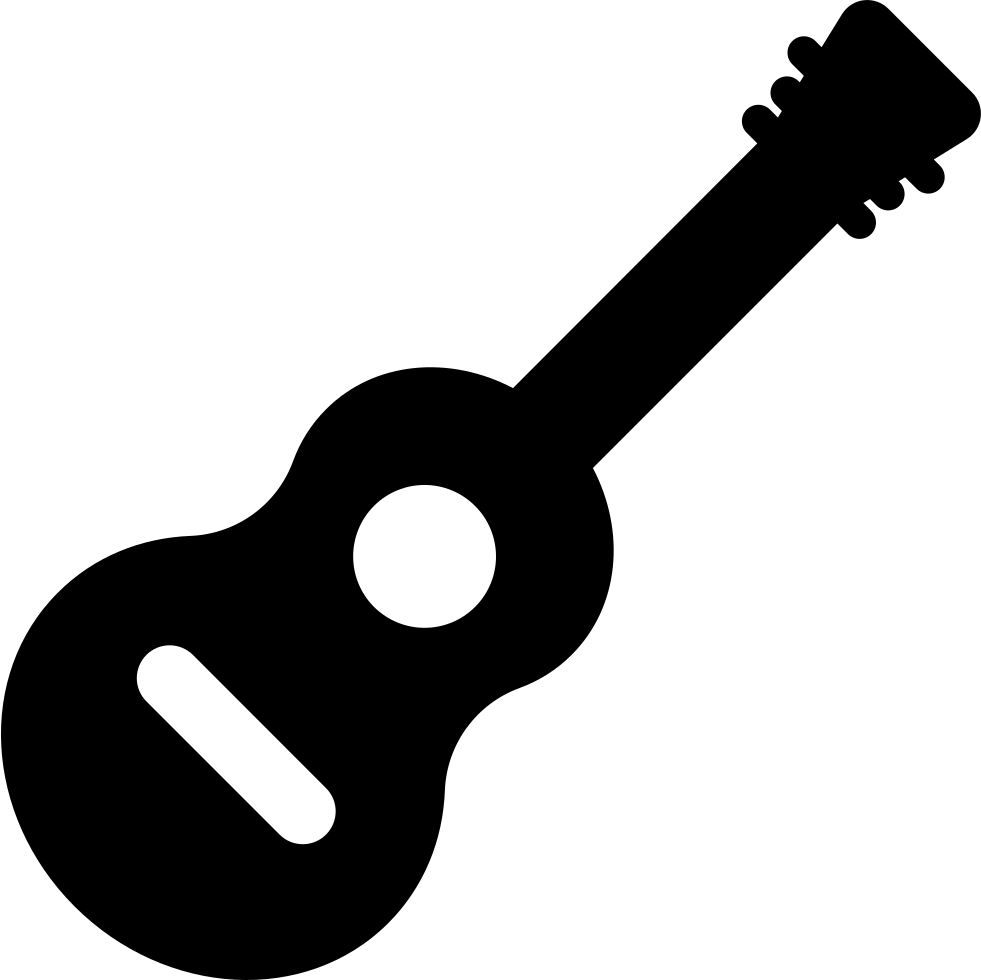 Clipart guitar svg. Inclined png icon free