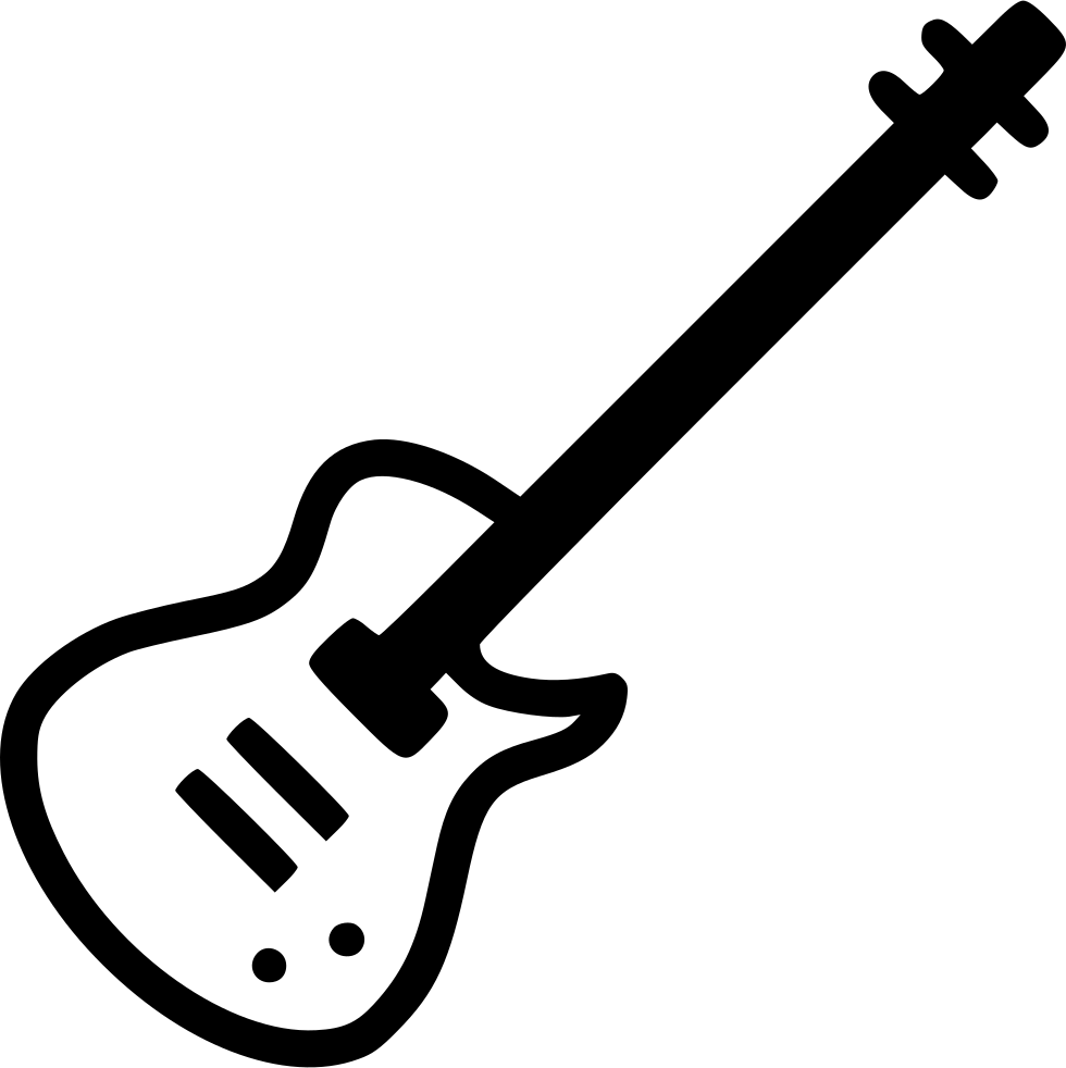 Clipart guitar svg. Electric instrument png icon