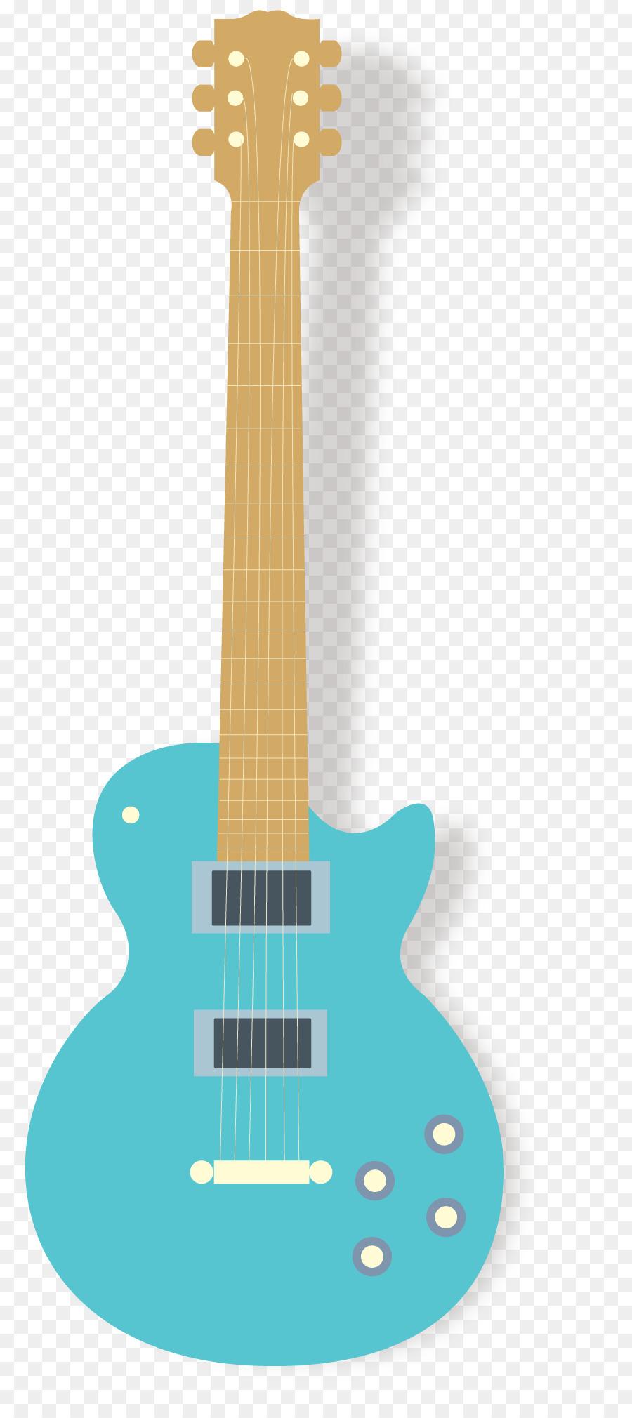Cartoon product . Guitar clipart guitar design