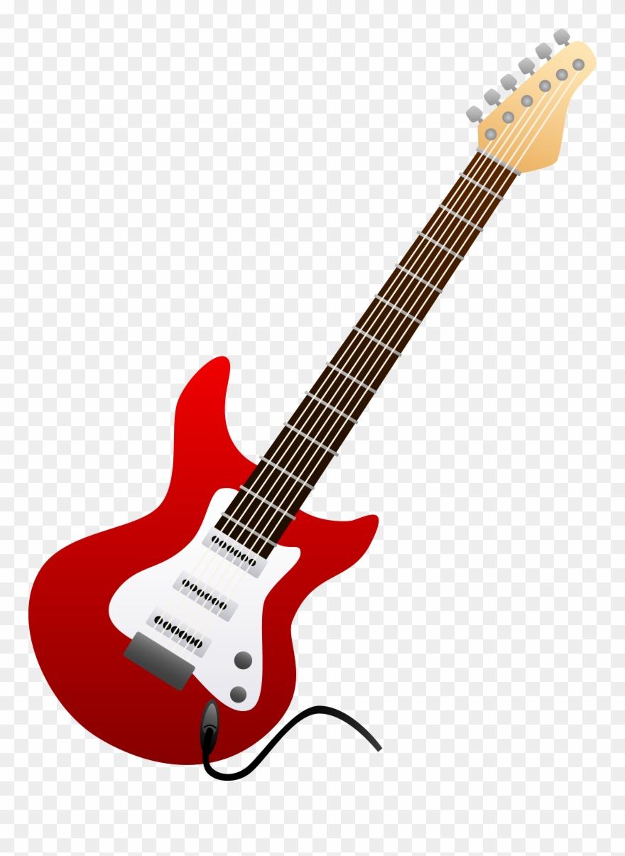 clip art. Clipart guitar transparent background