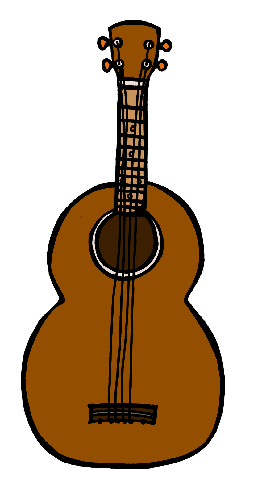 Guitar animated pencil and. Hawaii clipart hawaiian ukulele