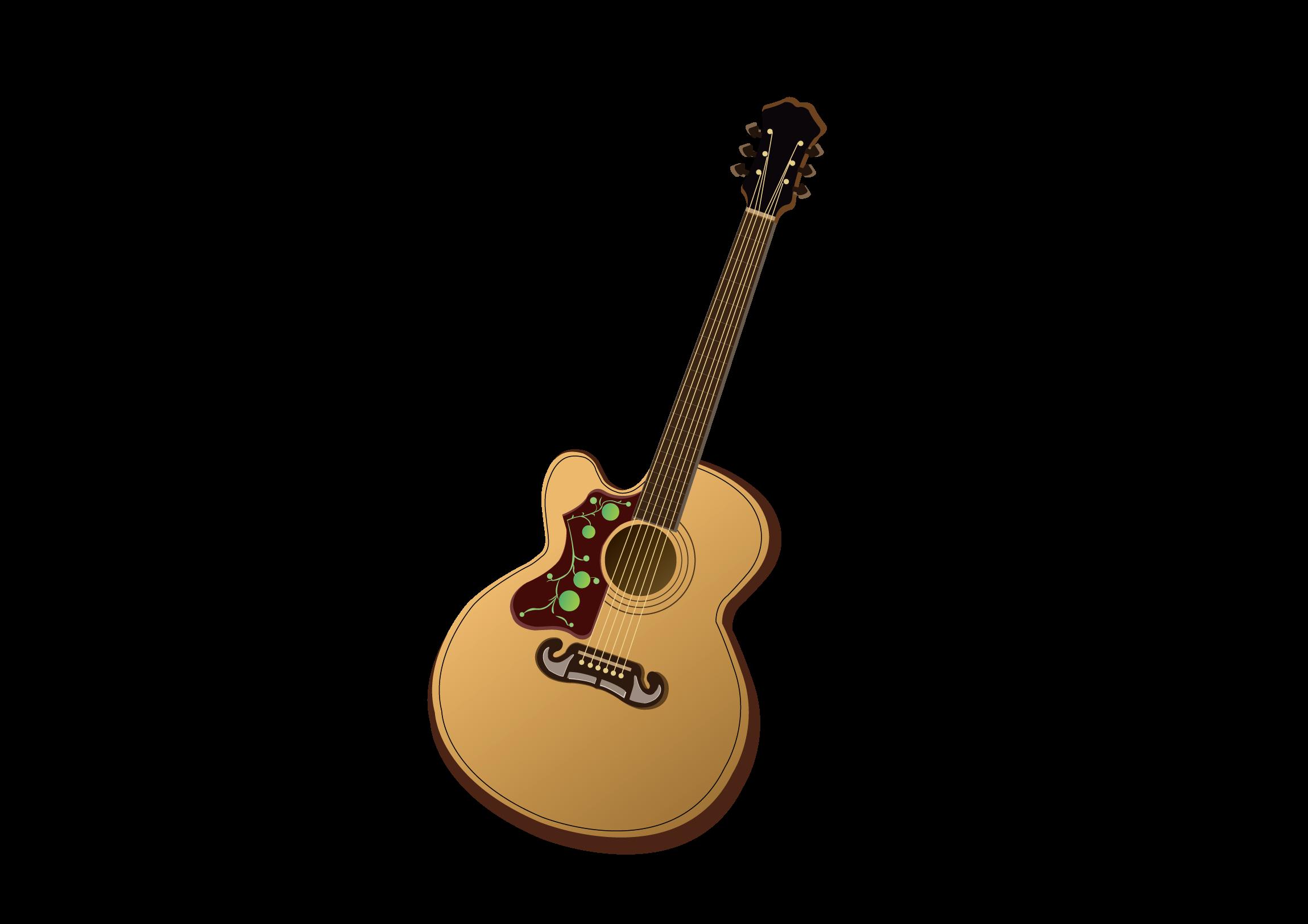 Pixabay folk vector. Clipart guitar tribal