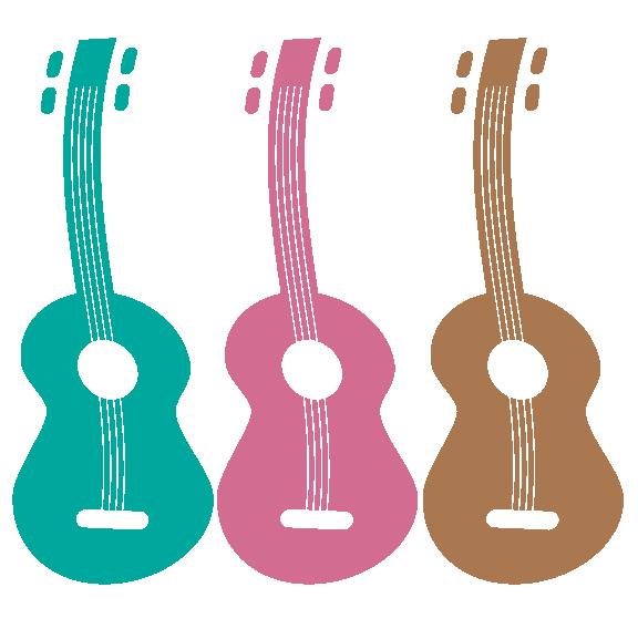 Ukulele logo stock art. Clipart guitar ukelele